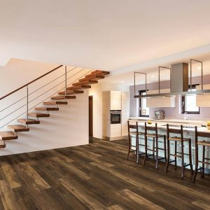 Stairway and Vinyl flooring | Andy's 5 Star Flooring