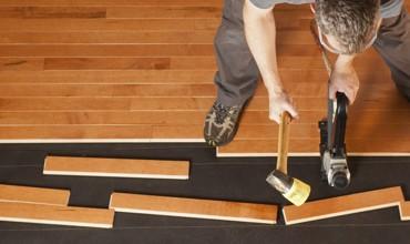 Hardwood installation | Andy's 5 Star Flooring