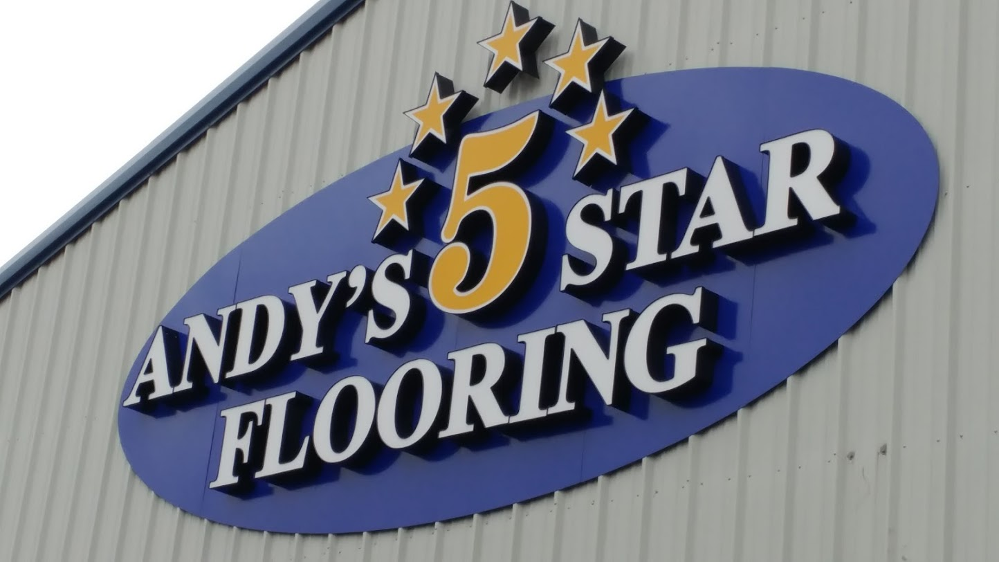 Andys five Star Flooring logo | Andy's 5 Star Flooring
