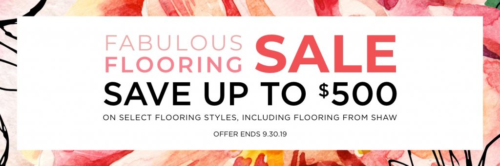 Fabulous flooring sale | Andy's 5 Star Flooring