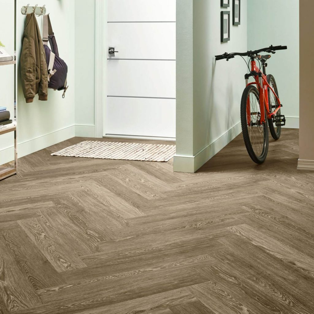 Bicycle on flooring | Andy's 5 Star Flooring