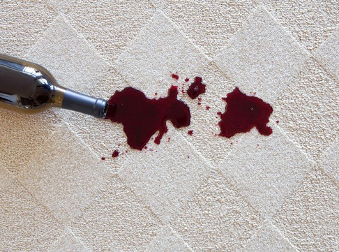 Spill on floor | Andy's 5 Star Flooring