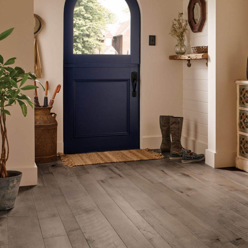 Blue door design | Andy's 5 Star Flooring