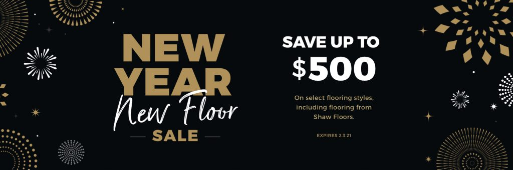 New Year New Floors Sale | Andy's 5 Star Flooring