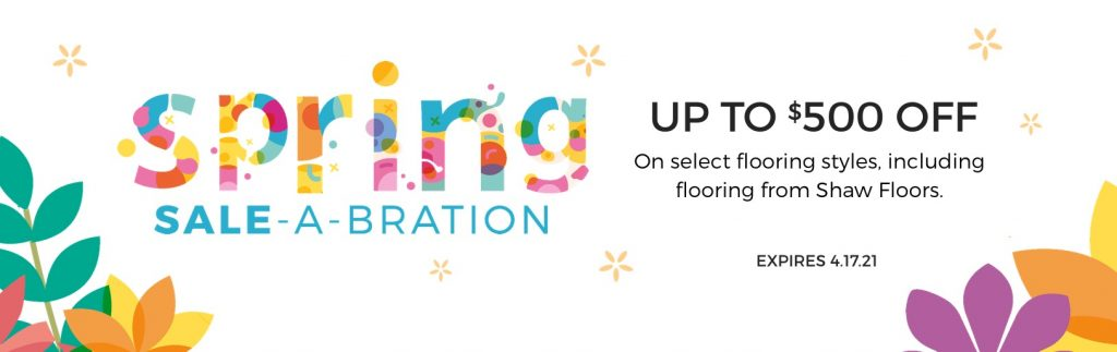 Spring Sale-A-Bration | Andy's 5 Star Flooring